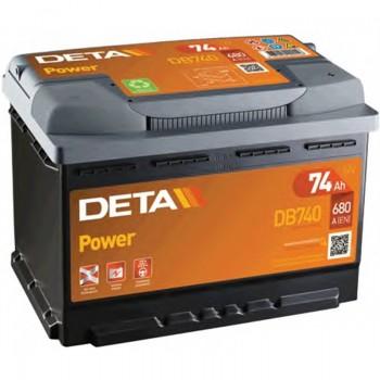 Batería deta 74Ah 680En ES